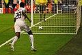 Adebayor con la pelota en la porteria (5593697596).jpg