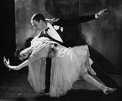 Fred e Adele Astaire em 1921.