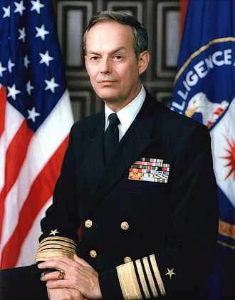 Bobby Ray Inman - Image: Admiral Bobby Ray Inman, official CIA photo, 1983