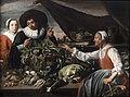 Adriaen van Utrecht (und Mitarbeiter) Alte Gemüseverkäuferin.jpg