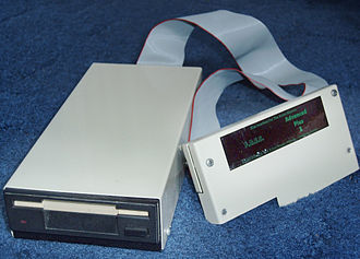 "Acorn Electron - The P.R.E.S. Advanced Plus 3 with a 3½"" drive"