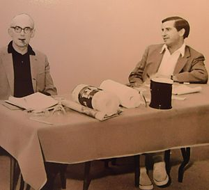 DDB Worldwide - Image: Advertising people Paul Harper (left) and Frederick D. Sulcer