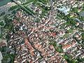 Aerial Lohr Ortskern 1 P1150692.jpg