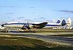 Aerochago Lockheed L-1049F Super Constellation at Miami International Airport.jpg