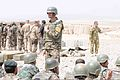 Afghan National Army soldiers with the 205th Corps watch a live field artillery demonstration at Forward Operating Base Wolverine in Zabul province, Afghanistan, April 6, 2013 130406-A-VM825-043.jpg