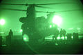 Afghan National Army soldiers with the 6th Special Operations Kandak get into a U.S. Army CH-47 Chinook helicopter before an operation in Ghorband district, Parwan province, Afghanistan, Jan. 15, 2014 140115-A-CL980-016.jpg