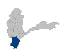 Afghanistan Badakhshan Kuran Wa Munjan district location.PNG