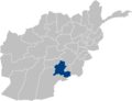 Afghanistan Zabul Province location.PNG