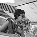 Afhalen van Josephine Baker in Frankrijk Portret J B, Bestanddeelnr 912-6472.jpg