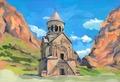 Agnes-Avagyan-Armenia-Noravank-Kirche-Kloster.tif