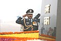 Air Chief Marshal Arup Raha paying tributes at Amar Jawan Jyoti, after taking charge of the Chief of the Air Staff, in New Delhi on January 01, 2014.jpg