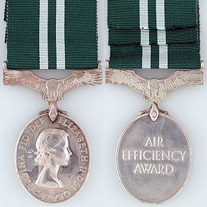 Air Efficiency Award - Second Queen Elizabeth II version