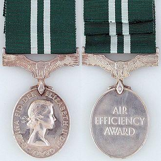 Air Efficiency Award - Second Queen Elizabeth II version