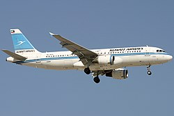 Airbus A320-200 der Kuwait Airways