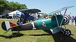 Airdrome Nieuport 24 & Airdrome Fokker D.VIII replicas.jpg