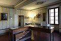 Ajaccio, maison bonaparte, sala con frammenti degli intonaci della casa.jpg