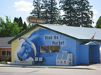 Akeley, Minnesota - The Blue Ox Market