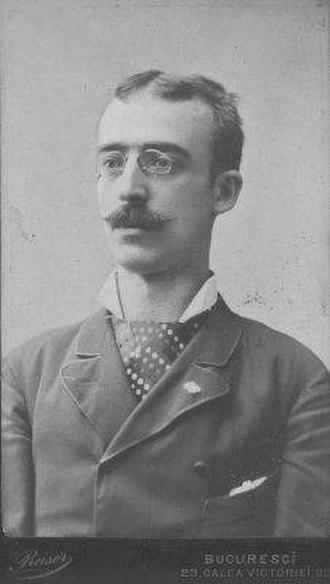 Alexandru Macedonski - 1878 photograph of Macedonski