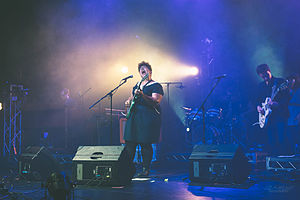 Alabama Shakes - Alabama Shakes performing in Santa Monica in 2014