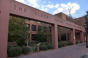 Albert Simons - The Albert Simons Center for the Arts at the College of Charleston