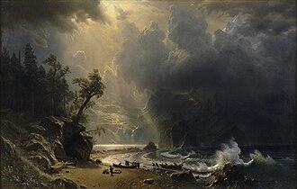 Albert Bierstadt - Puget Sound on the Pacific Coast (1870).jpg