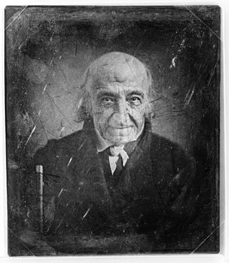 Albert Gallatin - Daguerreotype of Albert Gallatin, only photograph taken of him. circa 1844–1849