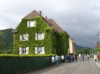 Albert Schweitzer's house at Gunsbach, now a museum and archive Albert Schweitzer-Archiv und Museum Gunsbach.jpg