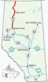 Alberta Highway 35 Map.png