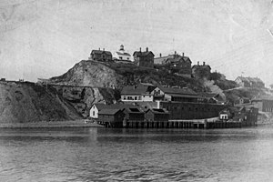 Alcatraz Island - Alcatraz Island, 1895.
