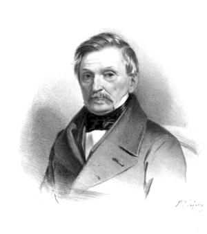Aleksander Fredro - Aleksander Fredro by  Maksymilian Fajans, after 1852
