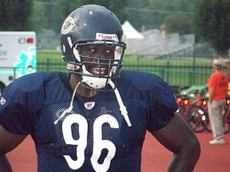2001 Florida Gators football team - Alex Brown while on the Bears.