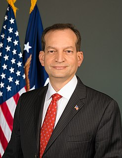 Alexander Acosta American lawyer and 27th United States Secretary of Labor