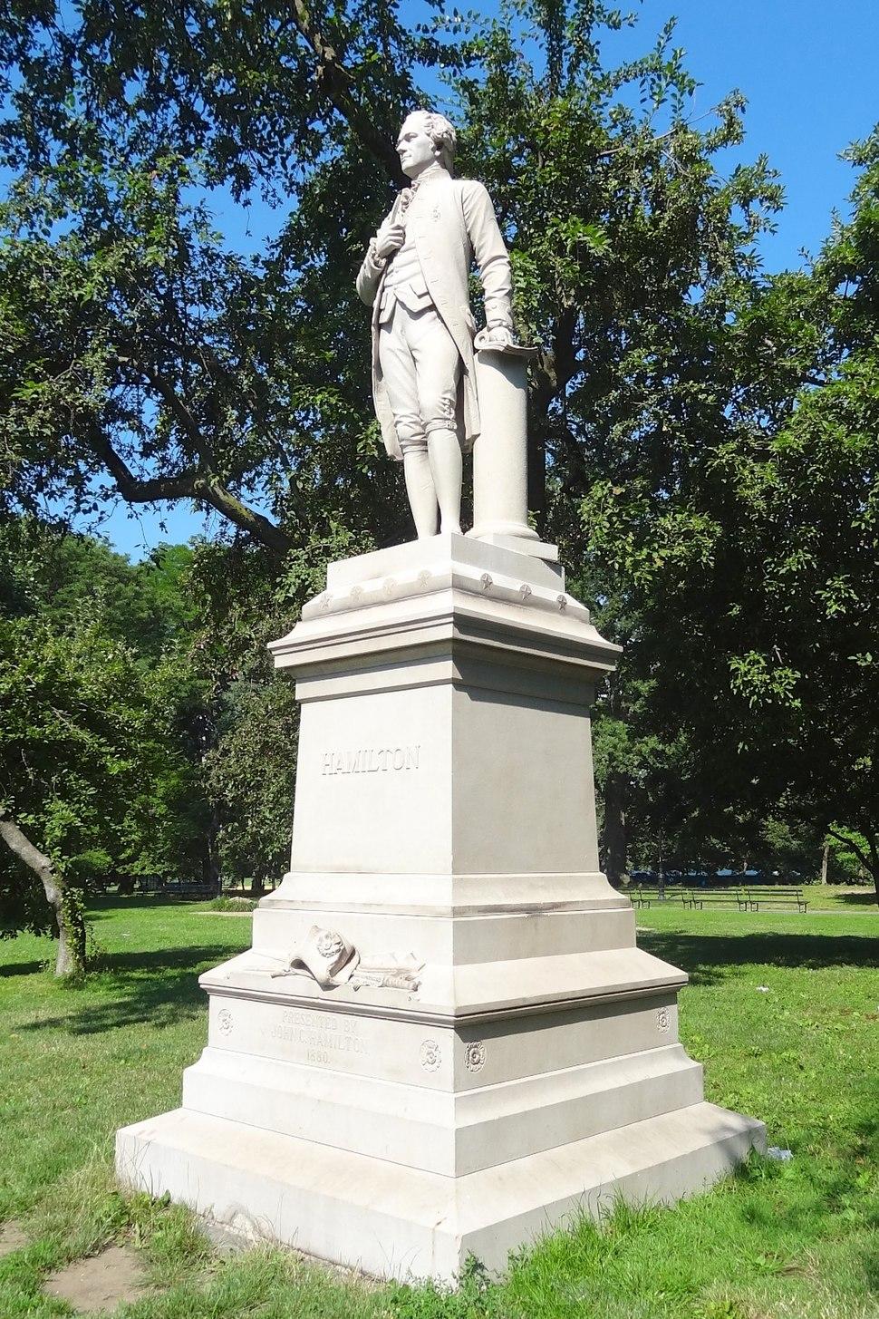 Alexander Hamilton by Conrads, Central Park, NYC - 02