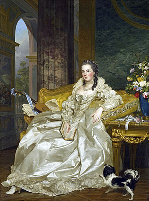 Armand de Vignerot du Plessis - His daughter the Countess of Egmont by Roslin.