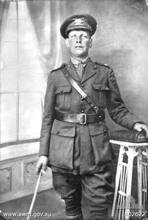 28th Battalion (Australia) - Image: Alfred Edward Gaby VC AWM A02622