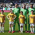 Algérie - Arménie - 20140531 - Islam Slimani (13), Nabil Ghilas (9) et Rafik Halliche (5).jpg