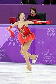 Alina Zagitova at the 2018 Winter Olympic Games - Free program 15.jpg