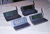 *Beschreibung: Einige Nokia Communictor Modell...