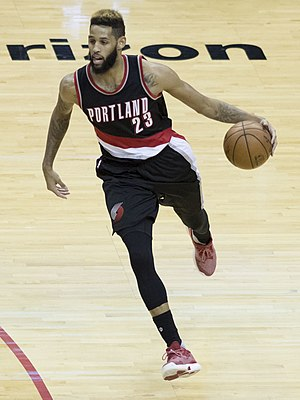 Allen Crabbe - Crabbe with Portland in 2017