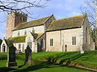 Almeley village in United Kingdom