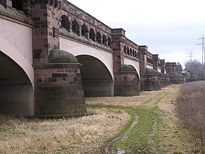 Minden Aqueduct - The old canal bridge