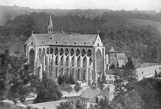 Karlheinz Stockhausen - Altenberg Cathedral, c. 1925, where Stockhausen had his first music lessons