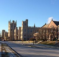Altgeld Hall and Still Hall along College Ave.jpg