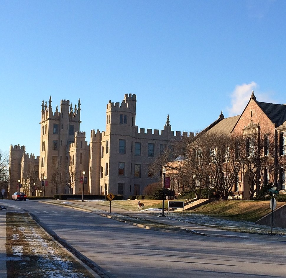 Altgeld Hall and Still Hall along College Ave