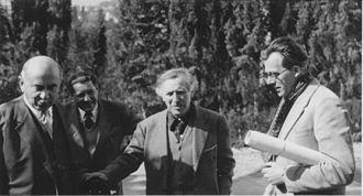 Bernhard Altmann - Image: Altmann Reimann Chagall Pippal.Vence 1952