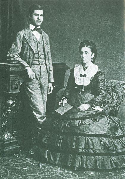 פרויד בן ה-16 ואמו עמליה - הפודקאסט עושים היסטוריה