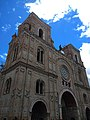 Amazing church, Cuenca — Ecuador, photograph from a double decker bus tour.jpg