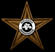 Template:Wikipedia Ambassador Barnstar - Wikiwand