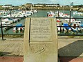 Amelia Earhart memorial, Burry Port harbour - geograph.org.uk - 1025606.jpg