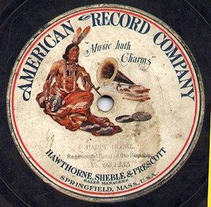 American Record Company - American Record Company label